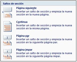 secciones II