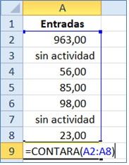 funciones contar 2