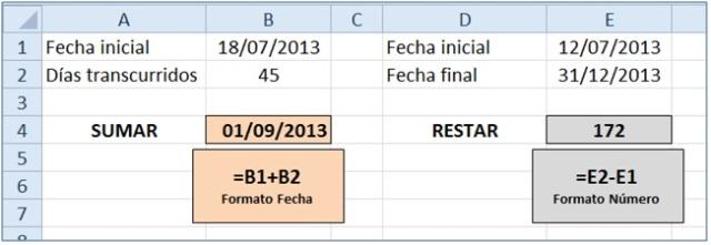 sumar y restar fechas 1