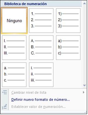 numeración 2
