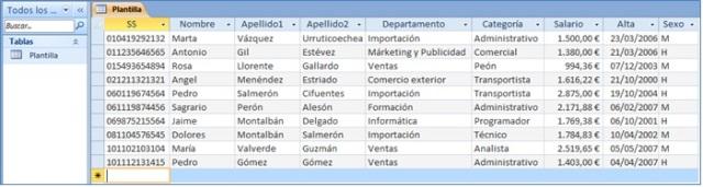 Access y Excel I