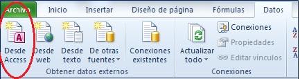 Access y Excel III