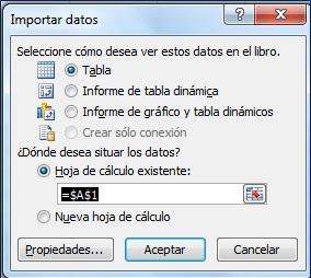 Access y Excel V
