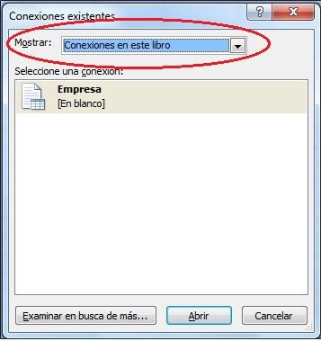 Access y Excel VI